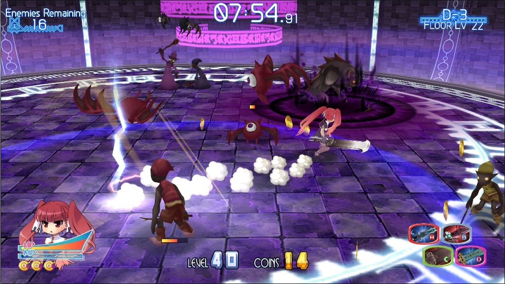 Awesome, anime Hack n Slash, Croixleur, is OUT NOW!