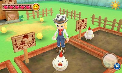 Harvest Moon A New Beginning 3DS
