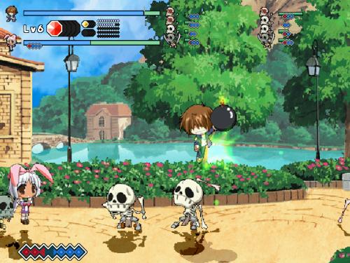 Duel Savior - Skeleton battle
