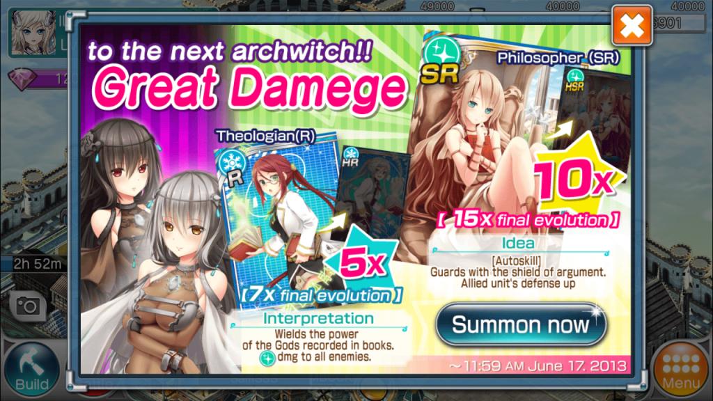 Valkyrie Crusade Event screenshot