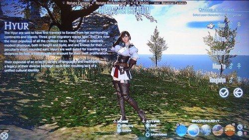 Final Fantasy XIV: A Realm Reborn - Character Customization