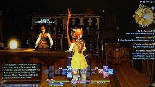 Final Fantasy XIV: A Realm Reborn - Shops
