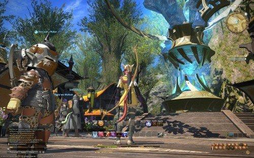 Final Fantasy XIV: A Realm Reborn Beta - City