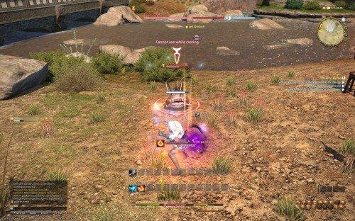 Final Fantasy XIV: A Realm Reborn Beta - Thaumaturge battle