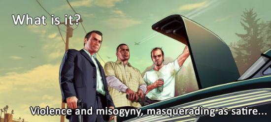 GTA misogyny