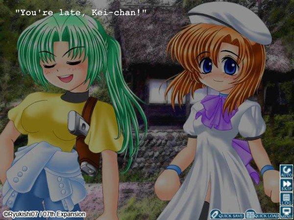 Higurashi - Mion and Rena