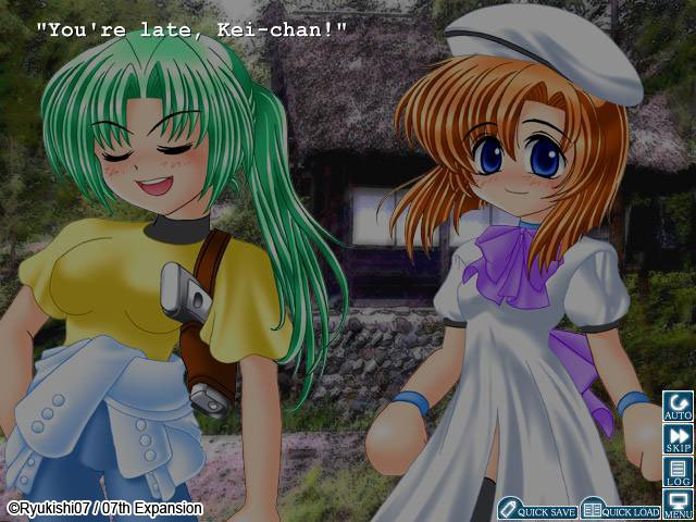Higurashi When They Cry Review Pc Rice Digital
