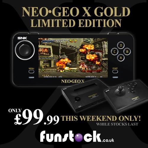 NeoGeo X Gold Only £99.99