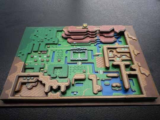 zelda-papercraft-a-link-to-the-past-map