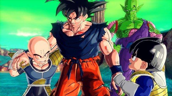 DB XV - Frieza saga - Krillin + Goku + Kid Gohan + Piccolo_1402391013-dragon ball xenoverse