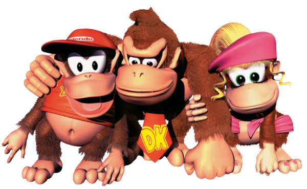 Group_Art_-_Donkey_Kong_Country_2