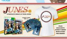 Junes T-Shirt comes free with all Persona 4 Arena Ultimax pre-orders