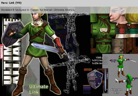 marvel-ultimate-alliance-link-Zelda Crossovers
