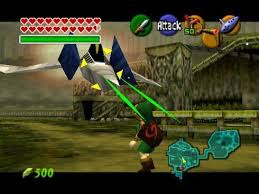 ocarina-of-time-arwing-Zelda Crossovers