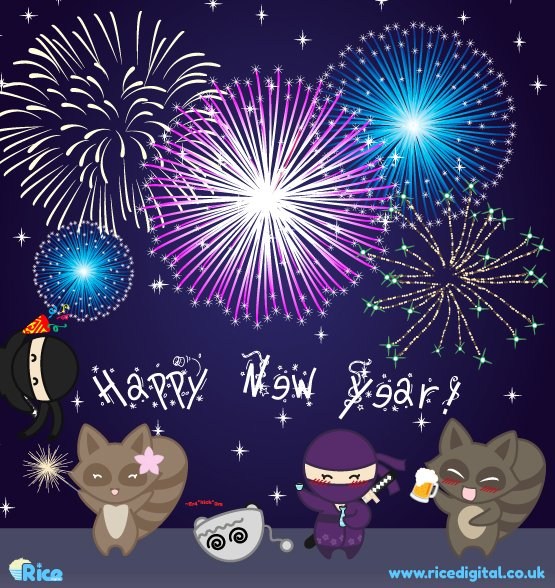 Happy New Year from The Rice Team Xx