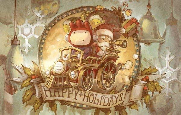 scribblenauts-happy-holidays-Christmas Games