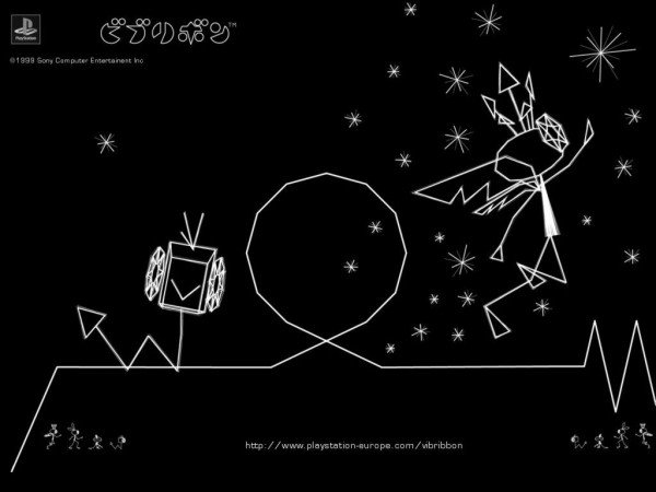 vib-ribbon-Underrated Japanese Games