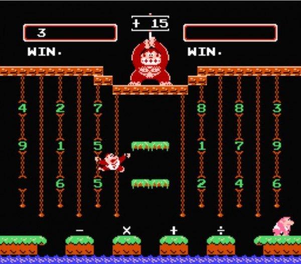 Donkey Kong Jr. Math-Overlooked Donkey Kong