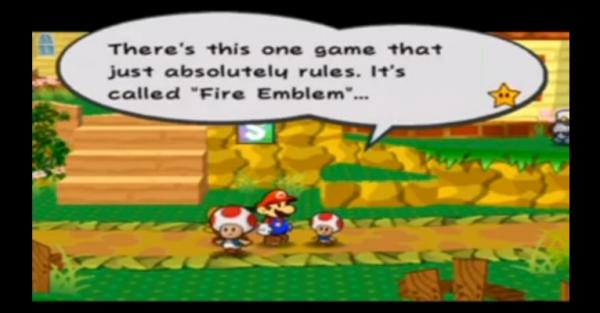 Paper Mario Fire Emblem Fire Emblem Crossover