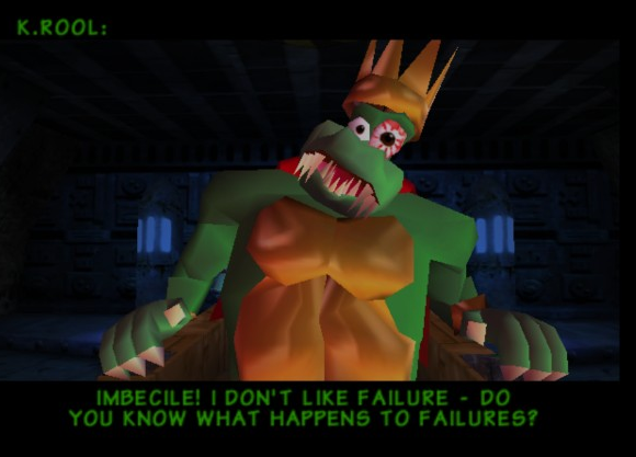 K. Rool donkey kong 64 review