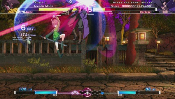 Under Night In-Birth Exe Late - Linne