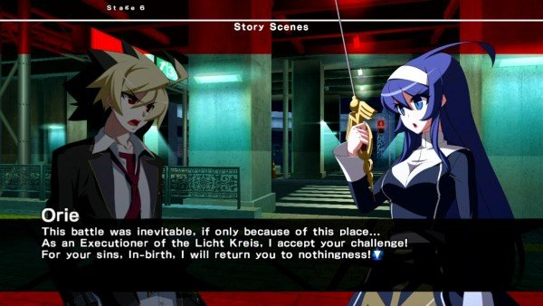 Under Night In-Birth Exe Late - Story