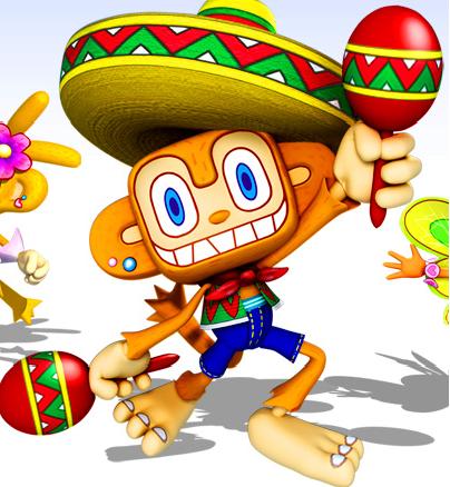 amigo pic Video Game Monkeys