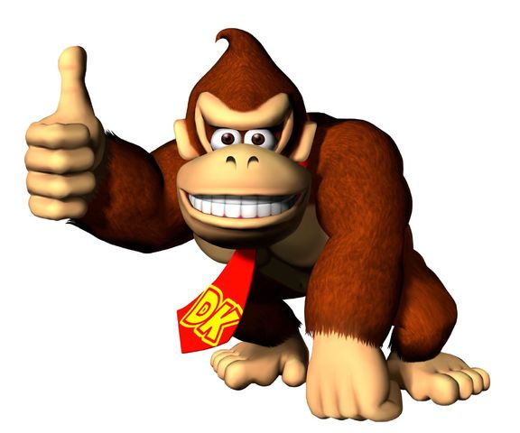 donkey kong pic Video Game Monkeys