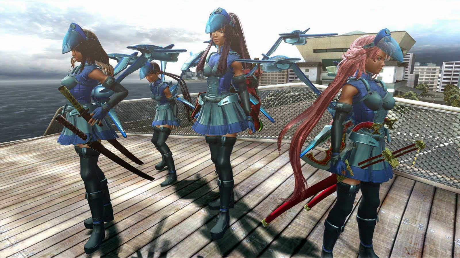 Onechanbara Z2 Chaos Review Coming To Terms With The B Game Ps4 Rice Digital