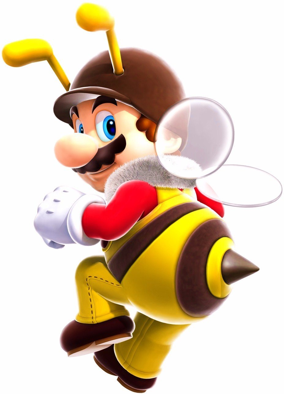 Top 5 Sexiest Mario Power-Ups Bee Mario