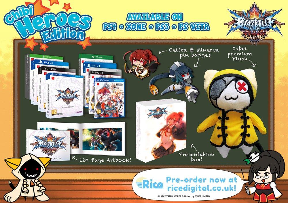 SE_ProductShot-1000x706 BlazBlue Chronophantasma Extend Chibi Heroes Edition