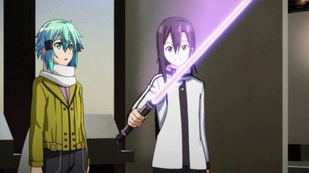 Sword Art Online Sinon and Kirito