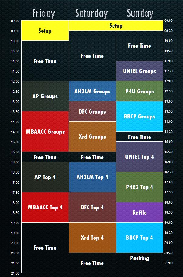 Revo2015-Timetable