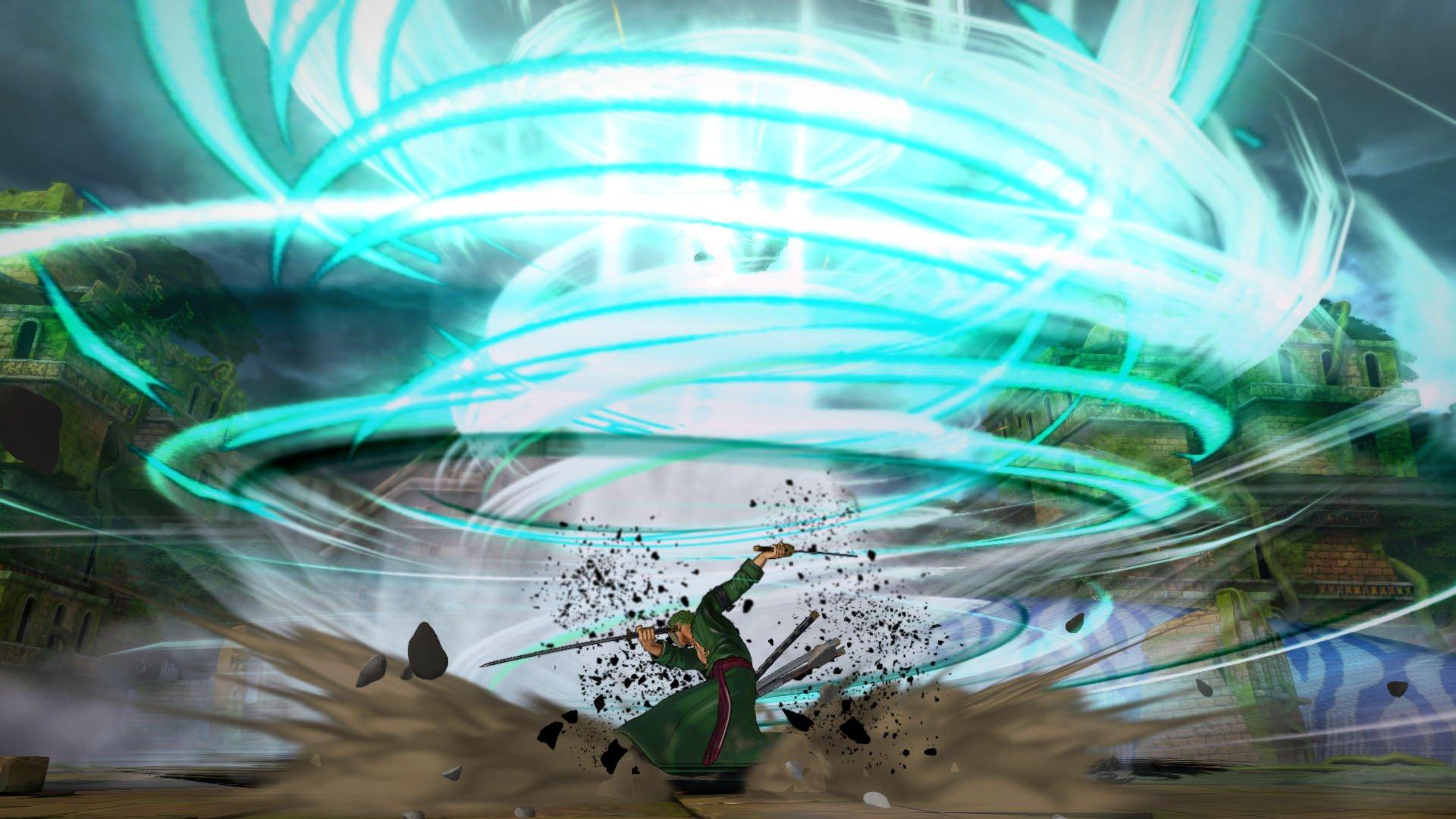 Zoro_Haki_3_1448271569 One Piece: Burning Blood Characters