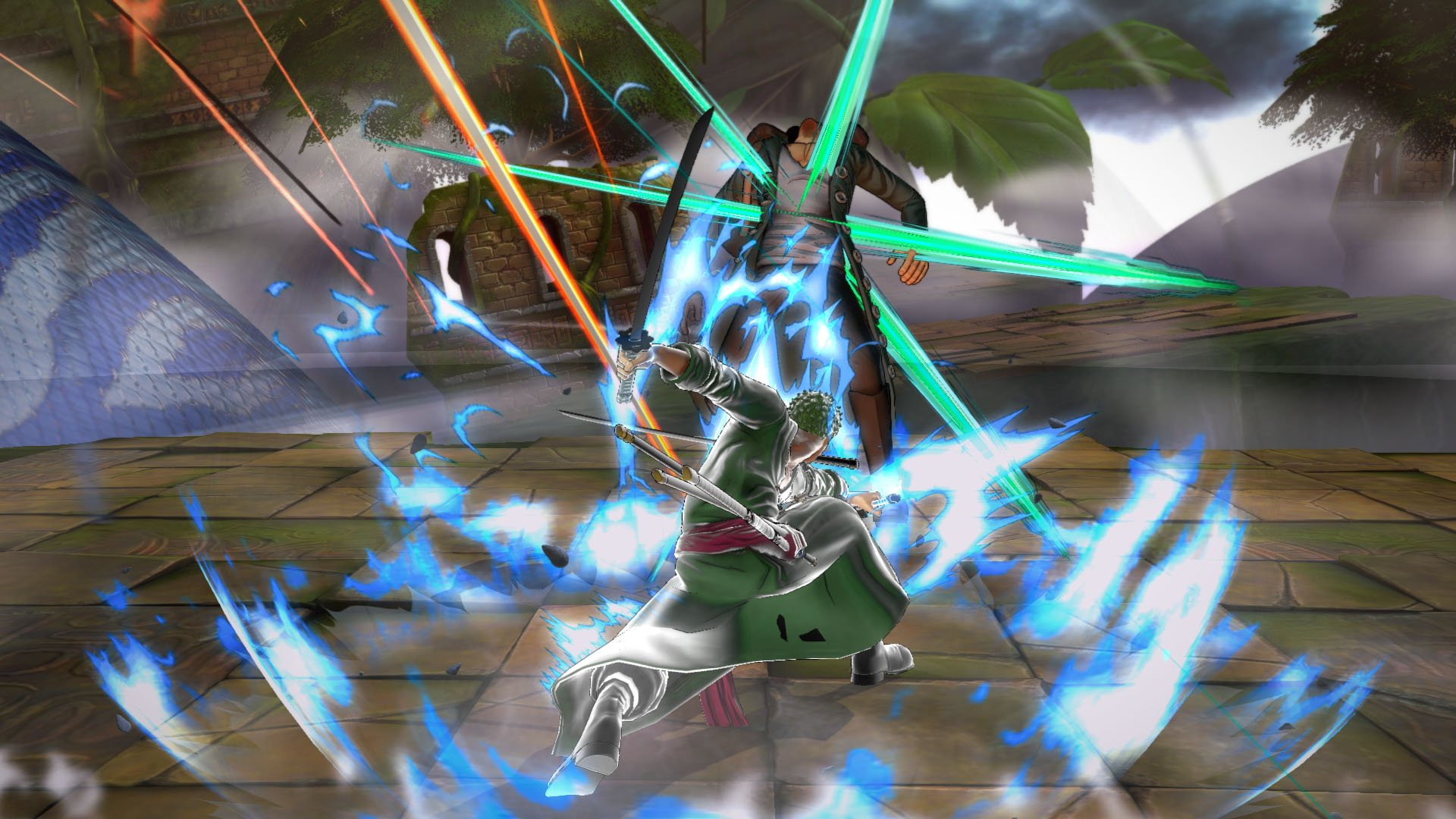 Zoro_Haki_5_1448271571 One Piece: Burning Blood Characters