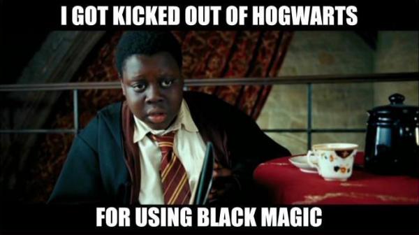The dangers of black magic