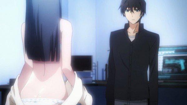 The Irregular at Magic High School - Miyuki undressing