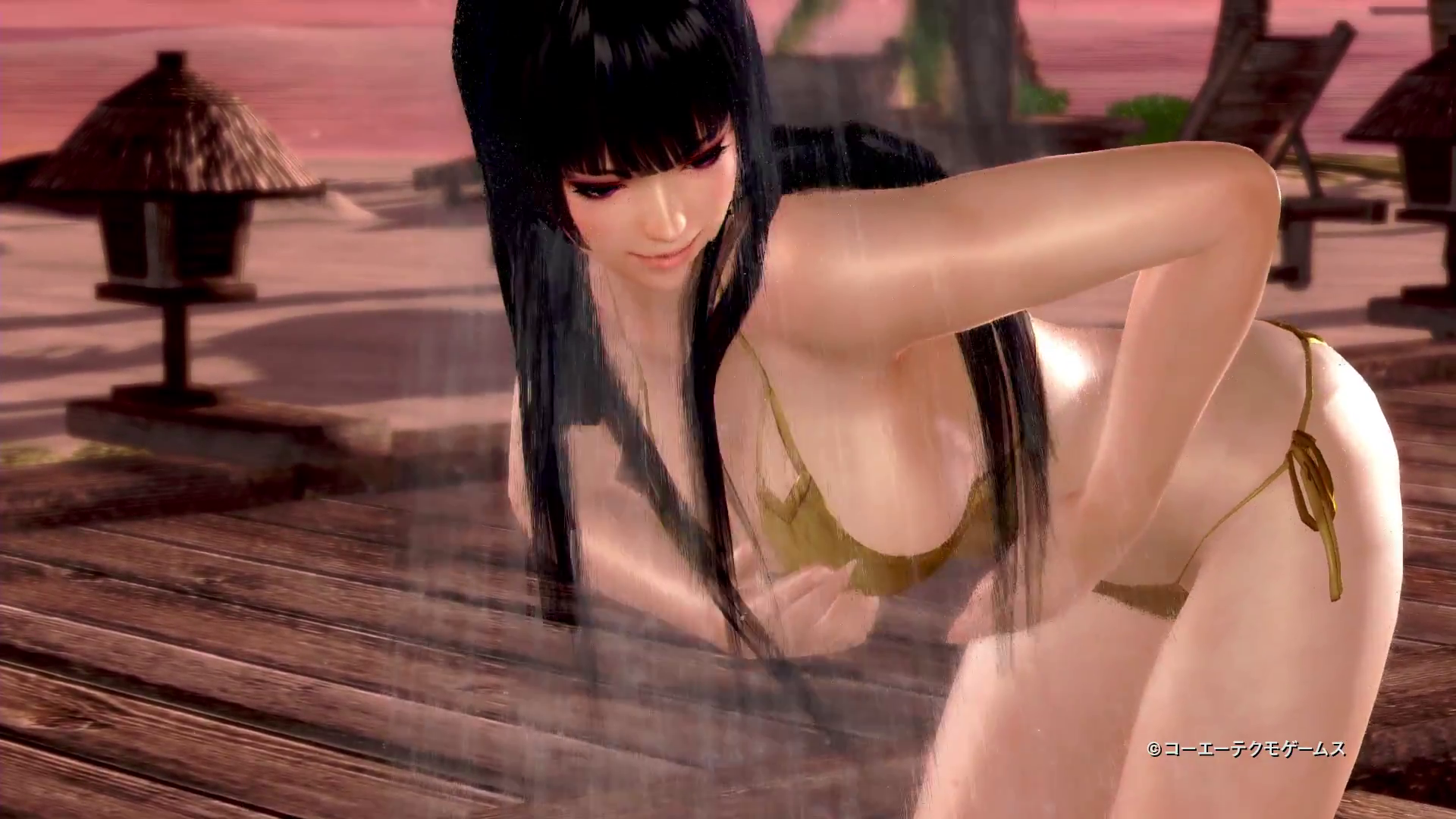 vlcsnap-2016-02-29-15h18m12s115 Dead or Alive Xtreme 3 Nyotengu Character Trailer
