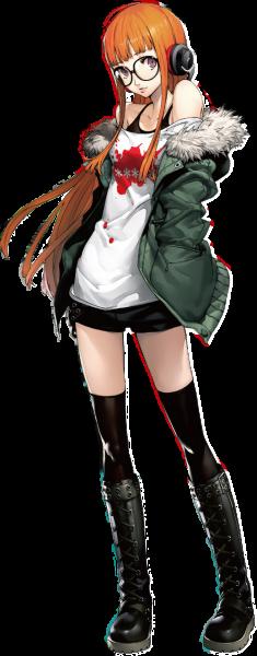 Persona 5 New Character Details - Sakura