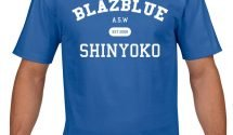 New Official Arc System Works BlazBlue & Guilty Gear Shinyoko Hoodies & T-Shirts Available