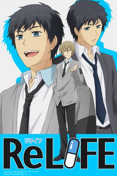 ReLIFE Crunchyroll Summer 2016 Anime Streaming Line-Up Announced
