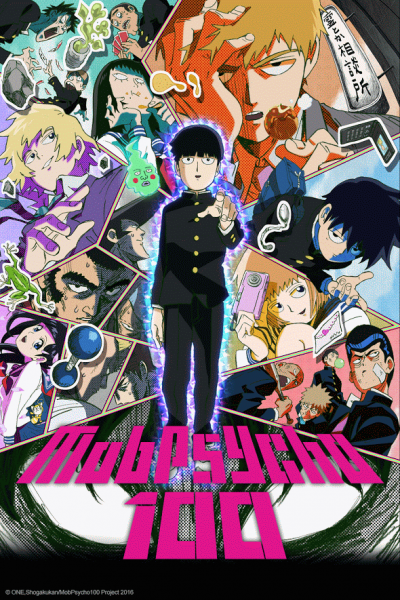 Mob Psycho 100 Crunchyroll Summer 2016 Anime Streaming Line-Up Announced