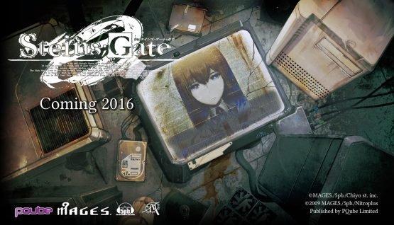 Steins;Gate 0 Localisation 2016 Key Art