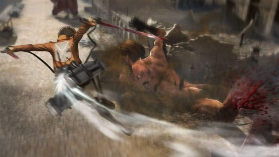 attack on titan wings of freedom review ps4 2