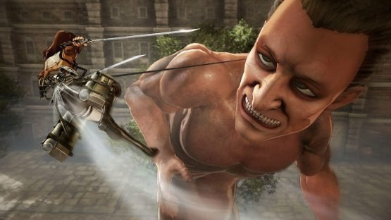 attack on titan wings of freedom review ps4 3