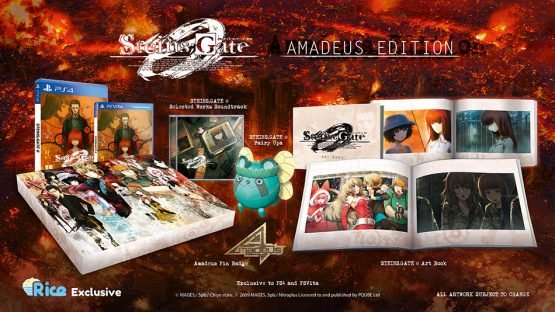 Steins;Gate 0 Collector's Edition, Amadeus Edition, Announced as Rice Digital Exclusive 1