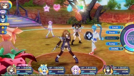 superdimension-neptune-vs-sega-hard-girls-review-battle-1