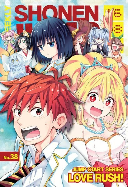 Love Rush Cancelled After 14 Chapters, One of Shonen Jump's Latest Manga 3