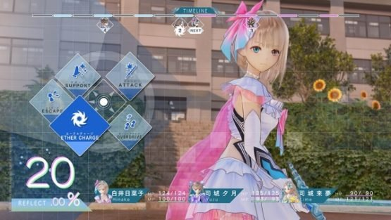 Blue Reflection Battle Gameplay Details Revealed