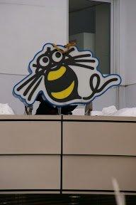 Holiday Heartbreak - Hudson Soft Mascot Taken Down in the Snow 2